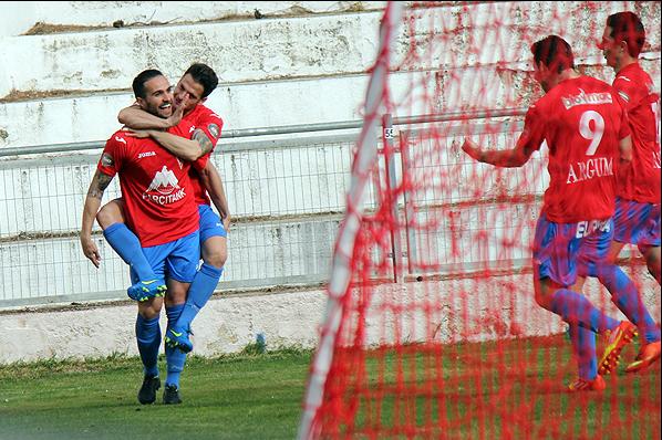 Josete durante un partido con el CP Villarrobledo