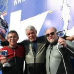 Juan Mohedano en el podio (Foto: Circuito)