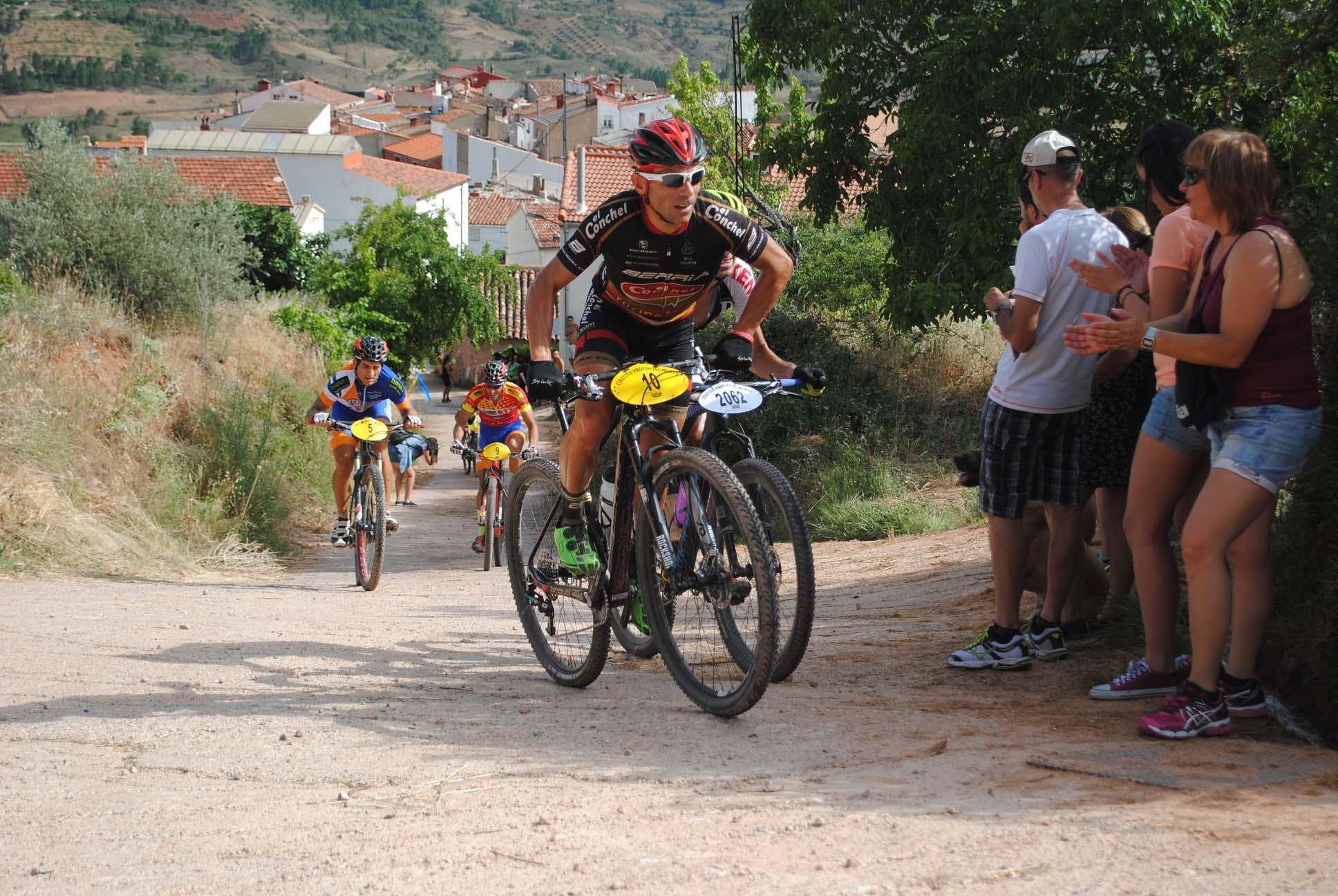 Juan Moya, vencedor en la prueba BTT de La Vegallera (Foto: Prodepor)