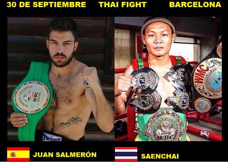 Juan Salmerón vs Saenchai