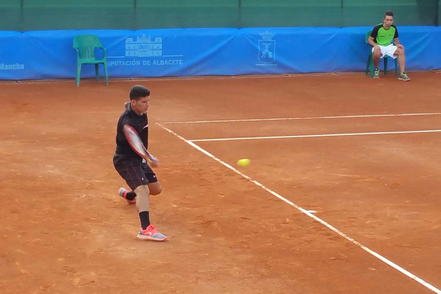Juan Samuel Arauzo, principal favorito en el Trofeo Internacional de Tenis Ciudad de Albacete