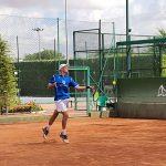 Jugador en el Trofeo Internacional de Tenis Ciudad de Albacete