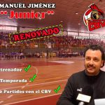 Manuel Jiménez 'Junior', entrenador del CB Villarrobledo