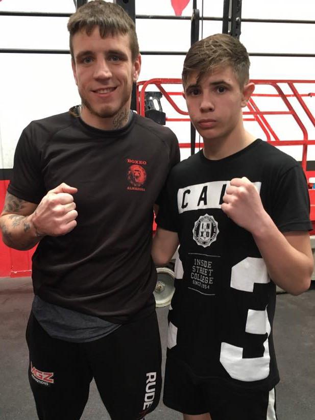 Kerman Lejarraga y Kike García