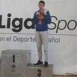Kike García en el podio