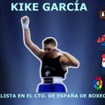 Kike García medalla