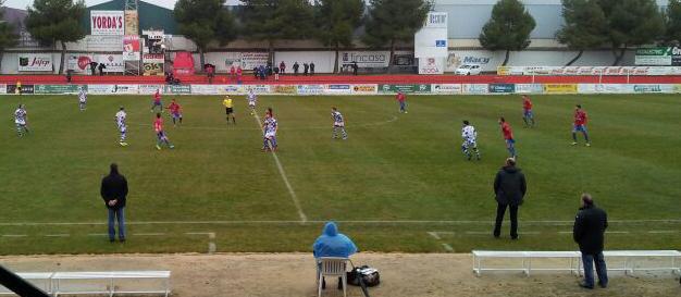 La Roda CF - Arroyo CP (Foto: Juan García)
