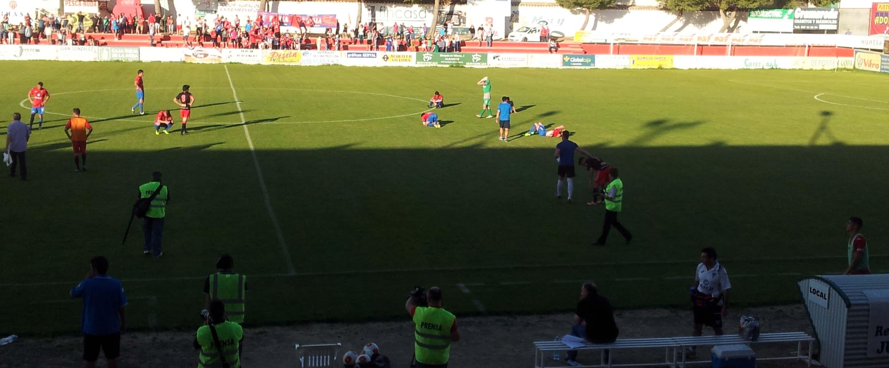 La Roda CF - Algeciras CF