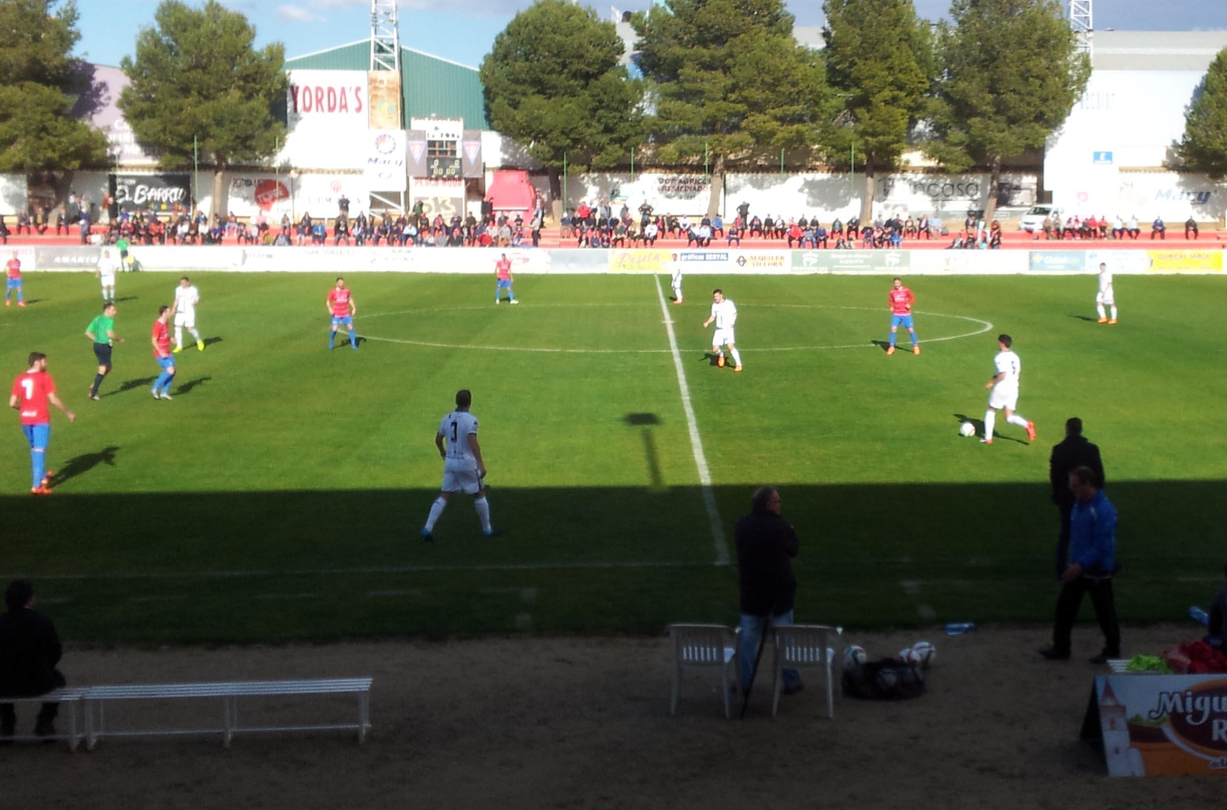 La Roda CF - Barakaldo CF