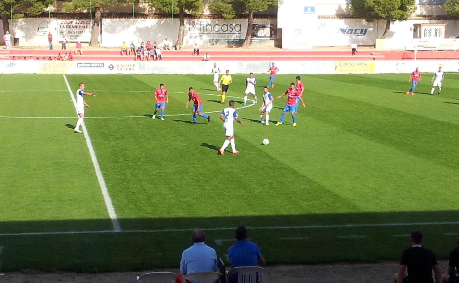 La Roda CF - Marbella FC