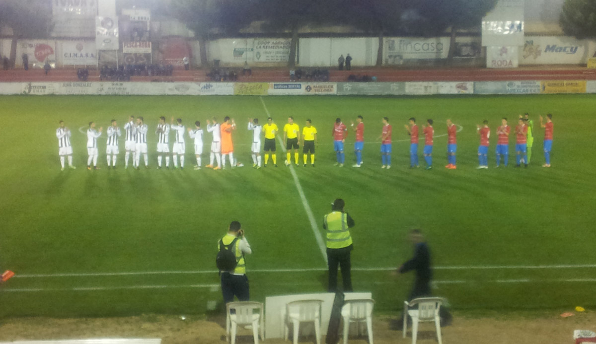 La Roda CF - Real Balompédica Linense