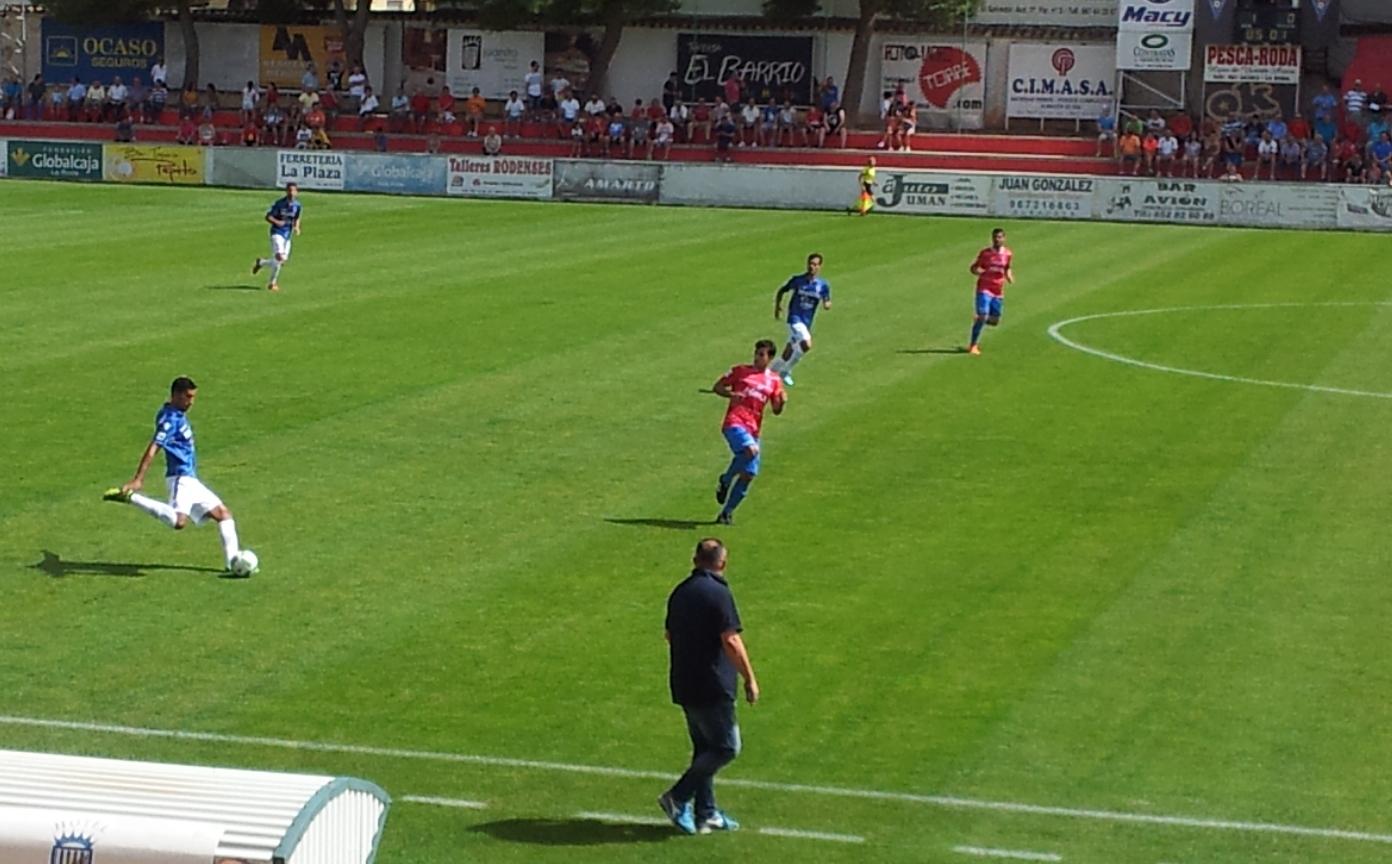 La Roda CF vs UD Melilla