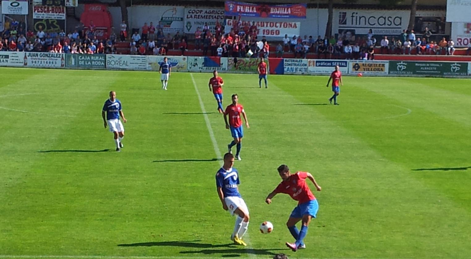 La Roda CF - UD Melilla