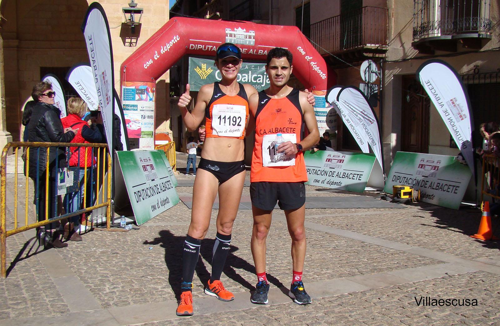 Laura Villar y Arturo Quijada en Alcaraz