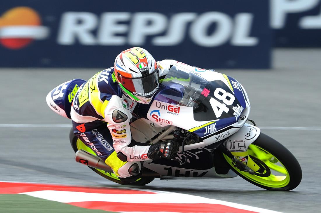 Lorenzo Dalla Porta en el Circuito de Albacete (Foto: FIM CEV Repsol)
