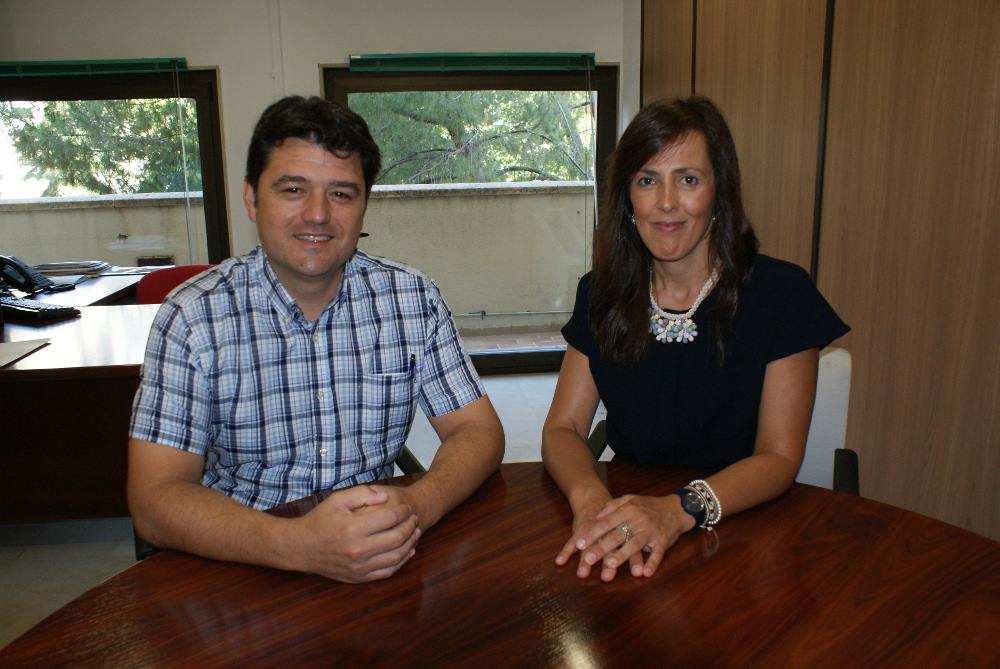 Francisco Navarro y María Gil, concejales del Ayuntamiento de Albacete