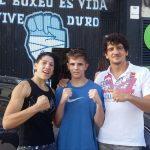 MIriam Gutiérrez, Kike García y Jero García