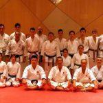 Maestros de kárate en el Club Deportivo Samurai de Albacete
