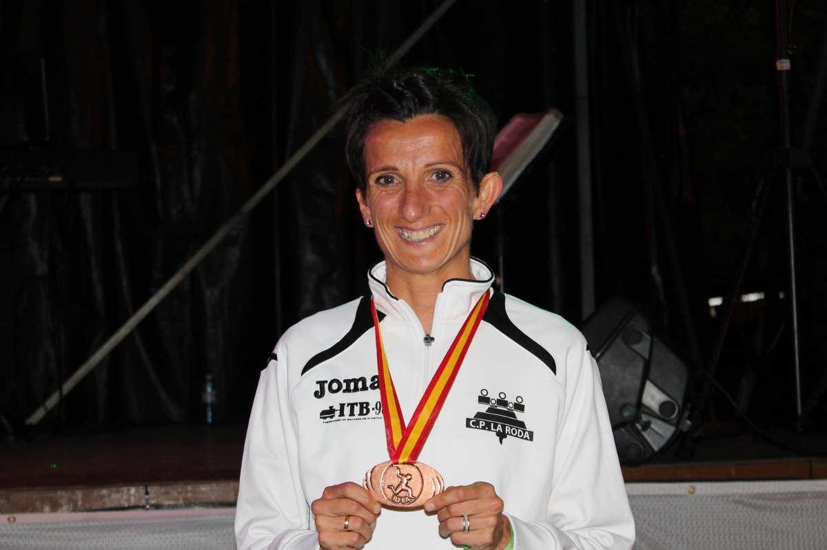 La atleta rodense María José de Toro