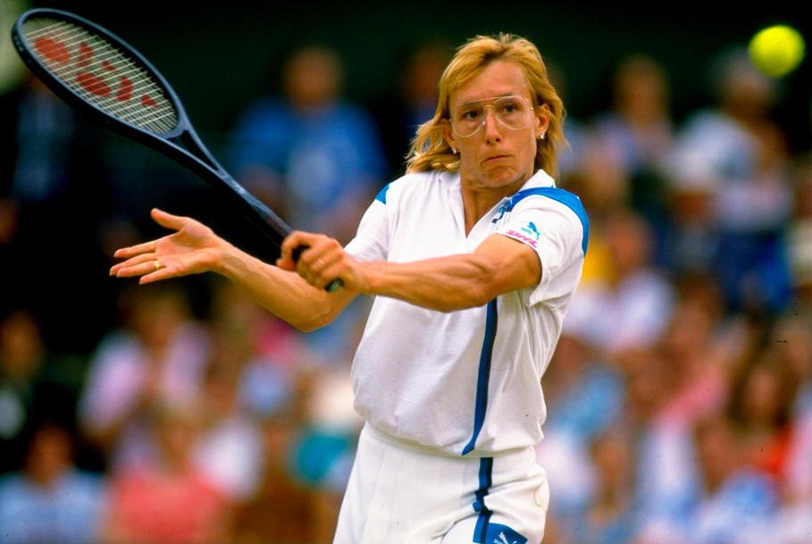 Martina Navratilova (Foto: deportistasdeleyenda.blogspot.com)