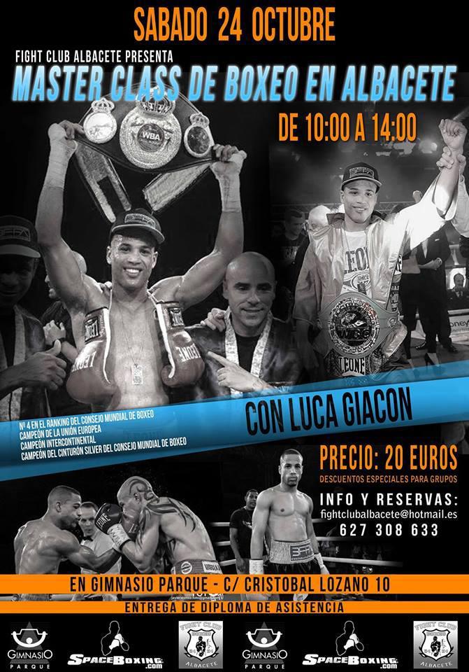 Master Class de Boxeo en Albacete