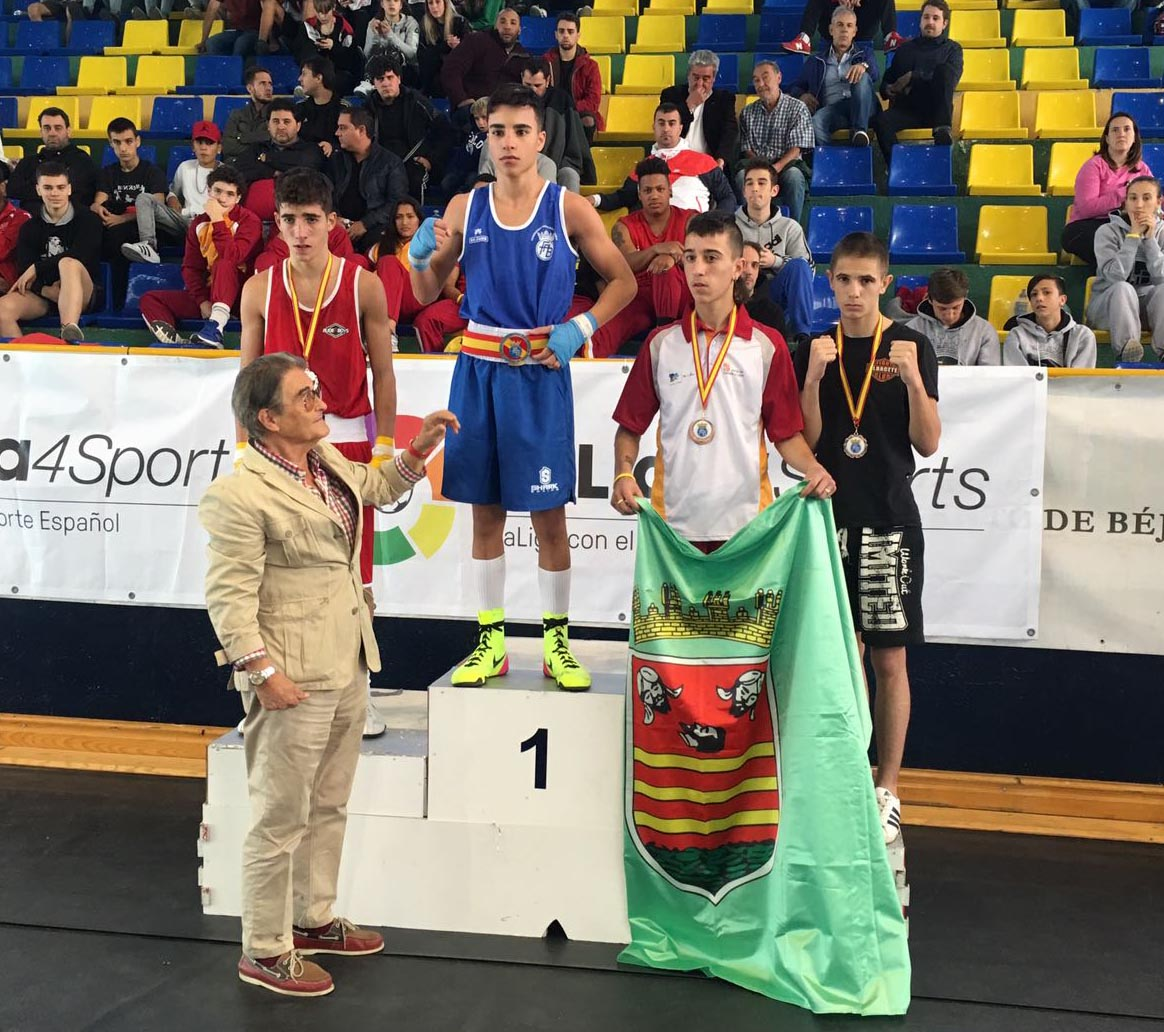Medalla de Kike García