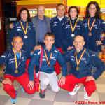 Medallas individuales (Foto: Paco Villaescusa)