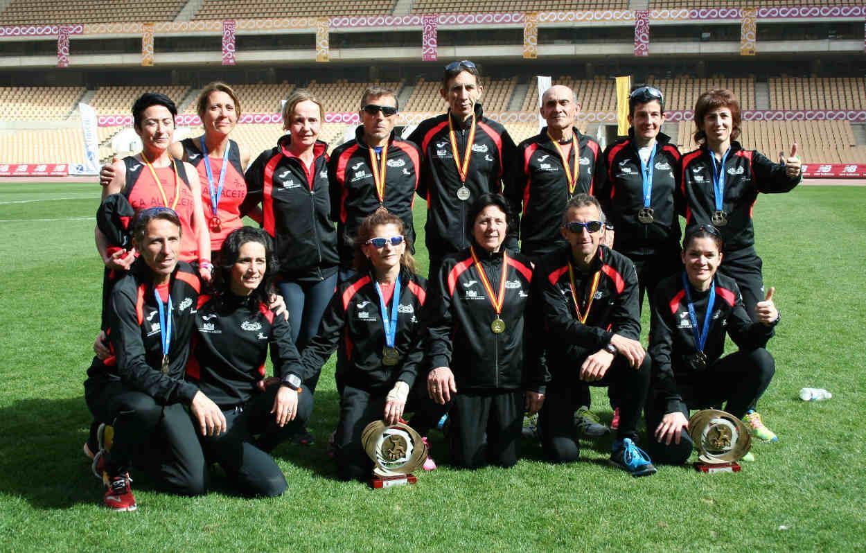 Medallistas del Club de Atletismo Albacete-Diputación