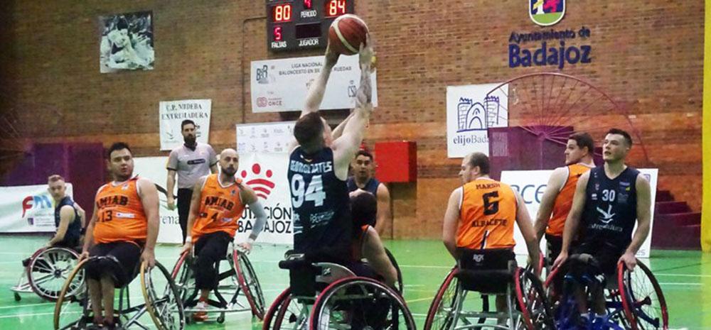 Mideba Extremadura - BSR Amiab Albacete