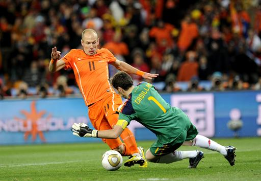 Holanda - España Mundial 2010