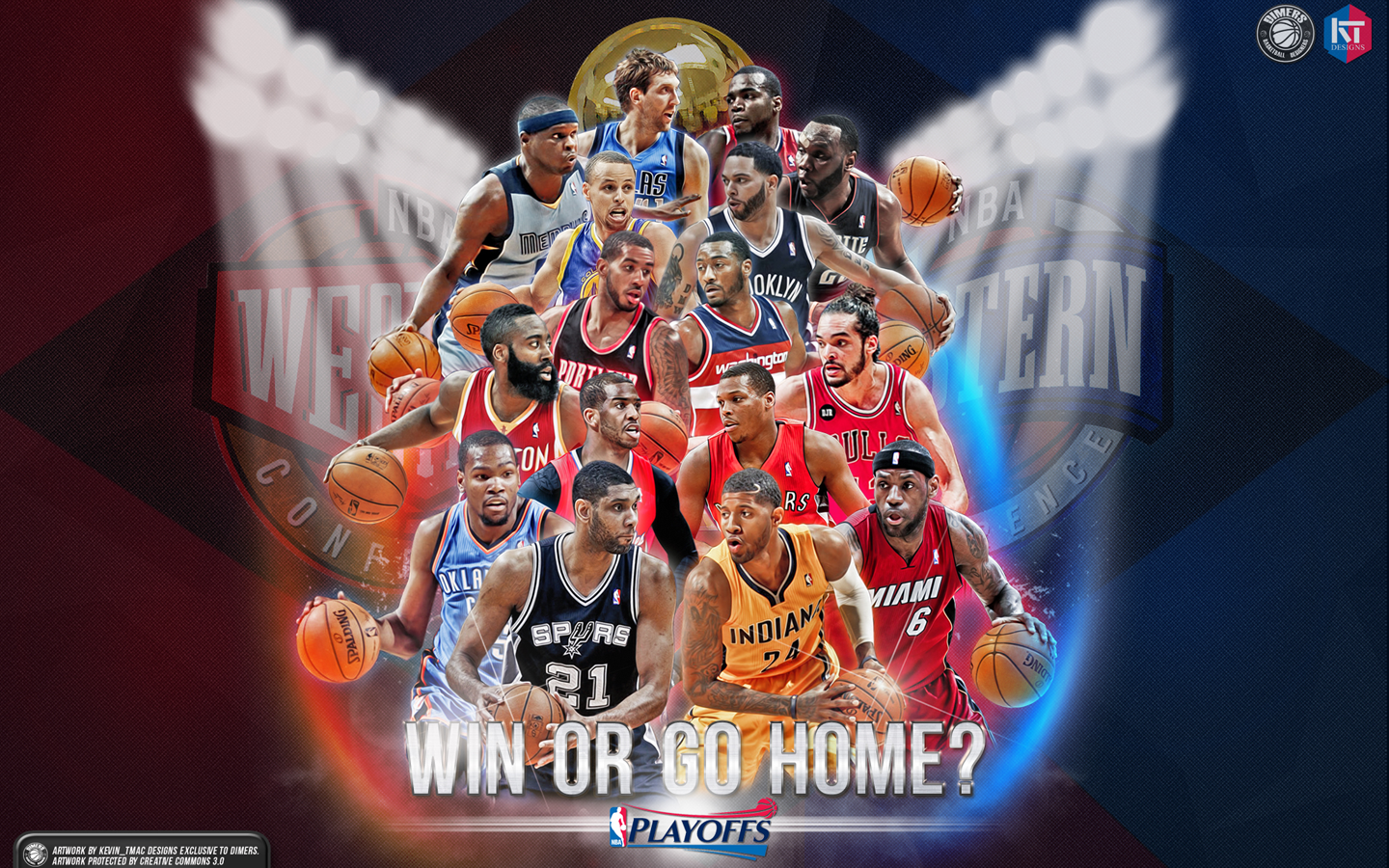 NBA Play off Wallpaper