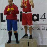 Nacho Guerrero en el Campeonato de España de Boxeo de Clubes