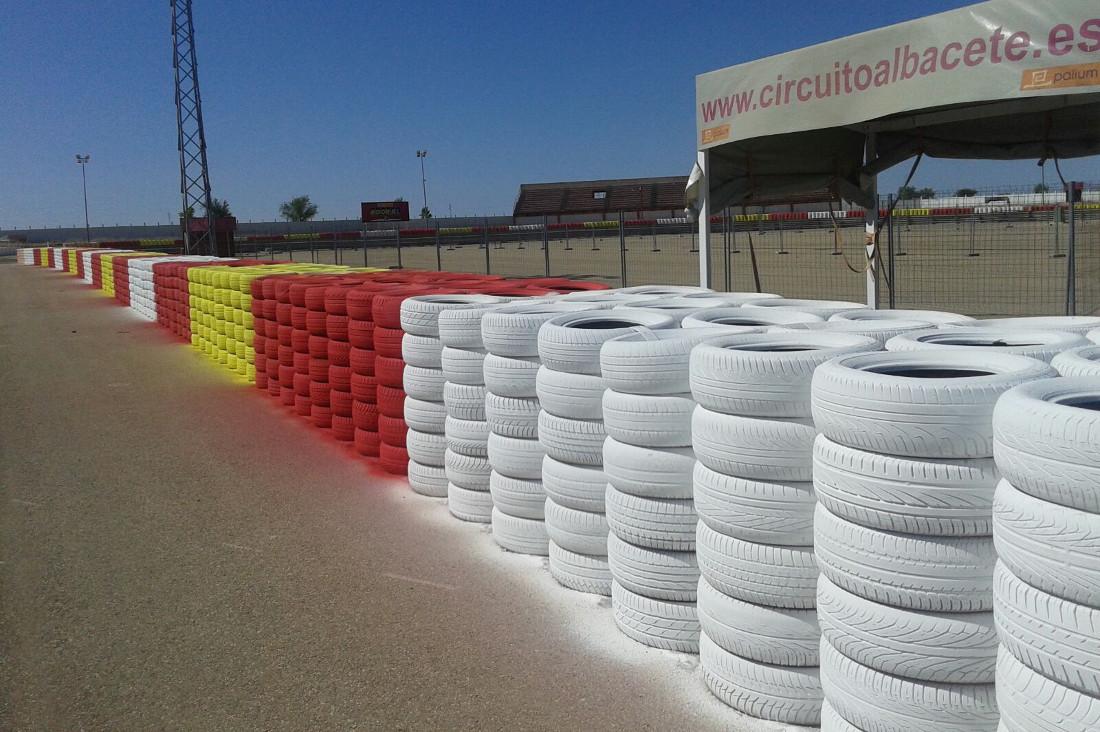 Neumáticos del Circuito de Albacete