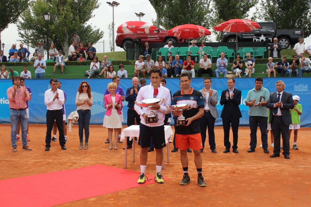 Nico Almagro en el Trofeo Internacional de Tenis Ciudad de Albacete