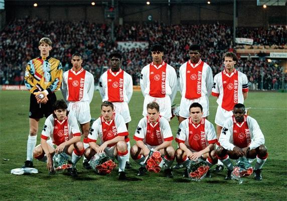 Once inicial del Ajax de Amsterdam