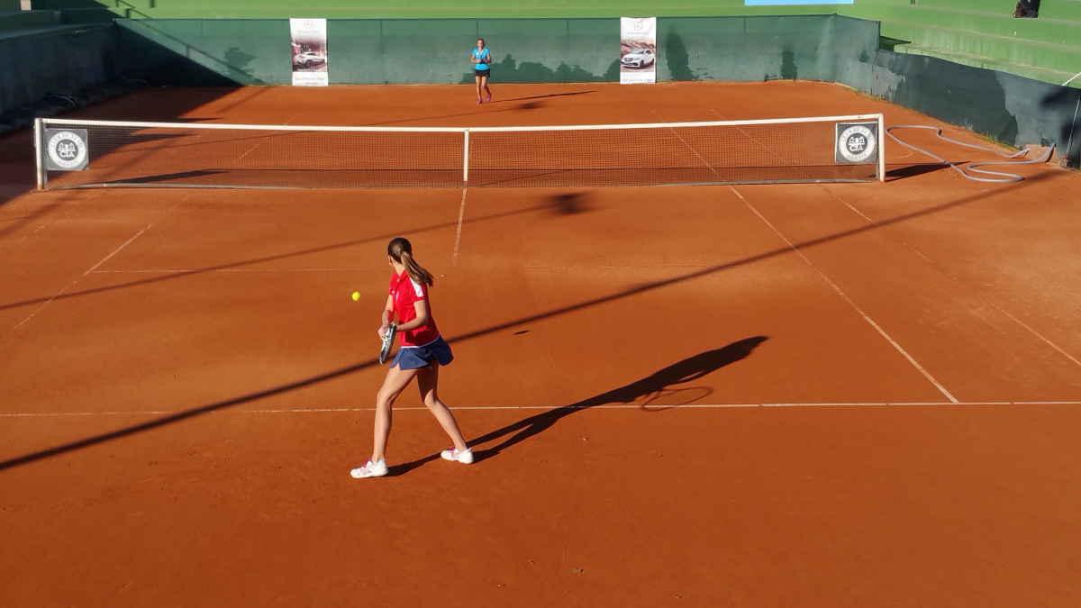 Imagen de un partido del Open de Tenis Automóviles Villar
