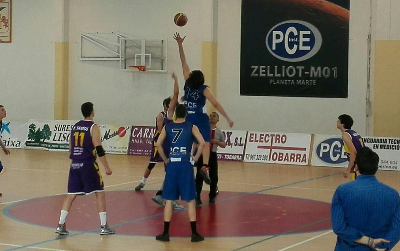 PCE Instruments Tobarra - Lujisa Guadalajara Basket