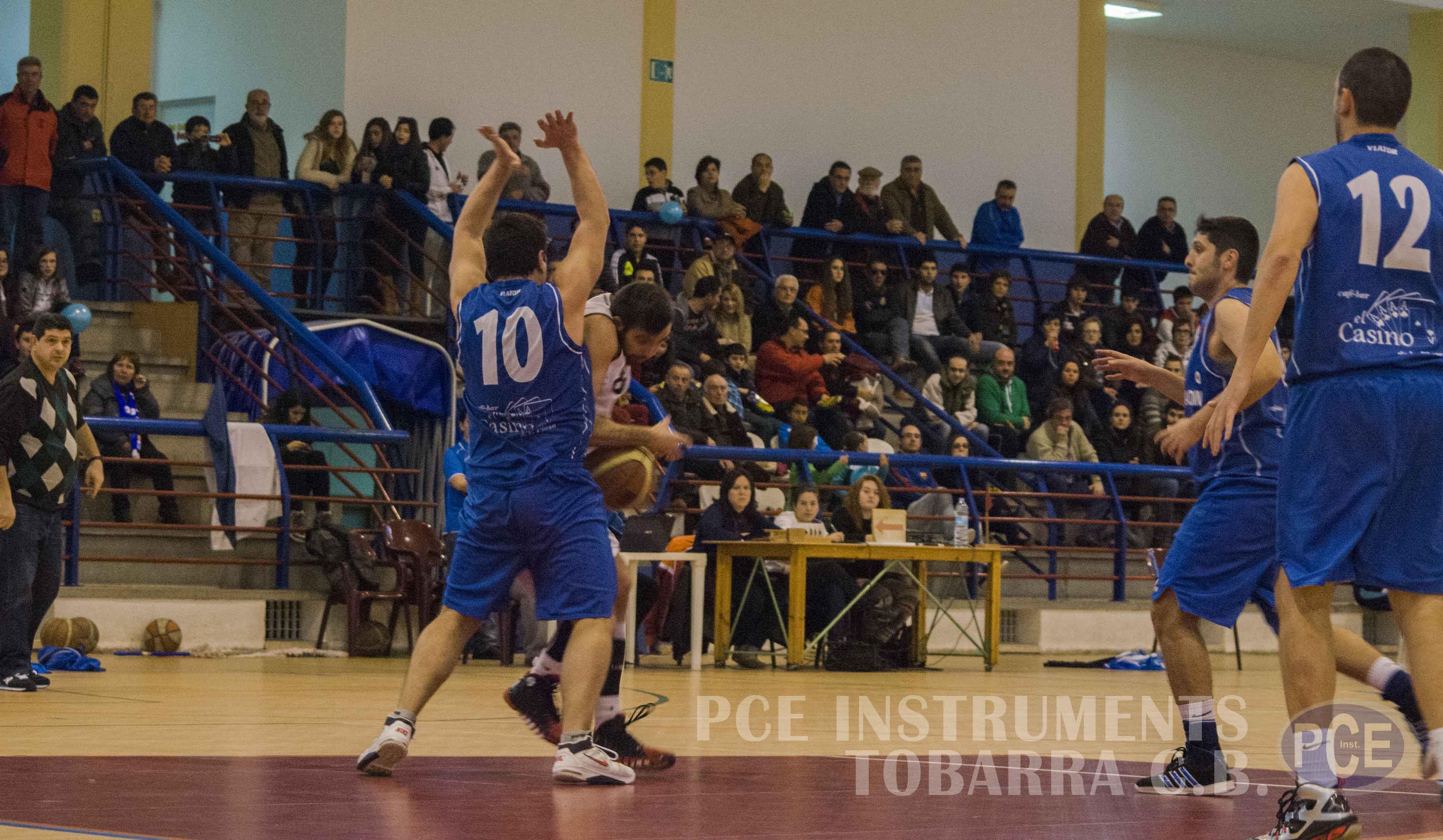 PCE Instruments Tobarra durante un partido (Foto: PCE Instruments Tobarra)
