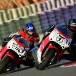 Pancho Belmonte y Pedro Pablo Piqueras en el Circuito de Albacete (Foto: Sotoca)