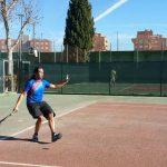 Participantes en el Torneo de Navidad de Tenis y Pádel de El Corte Inglés