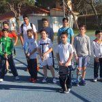 Participantes en la Liga Jóvenes Promesas de Tenis