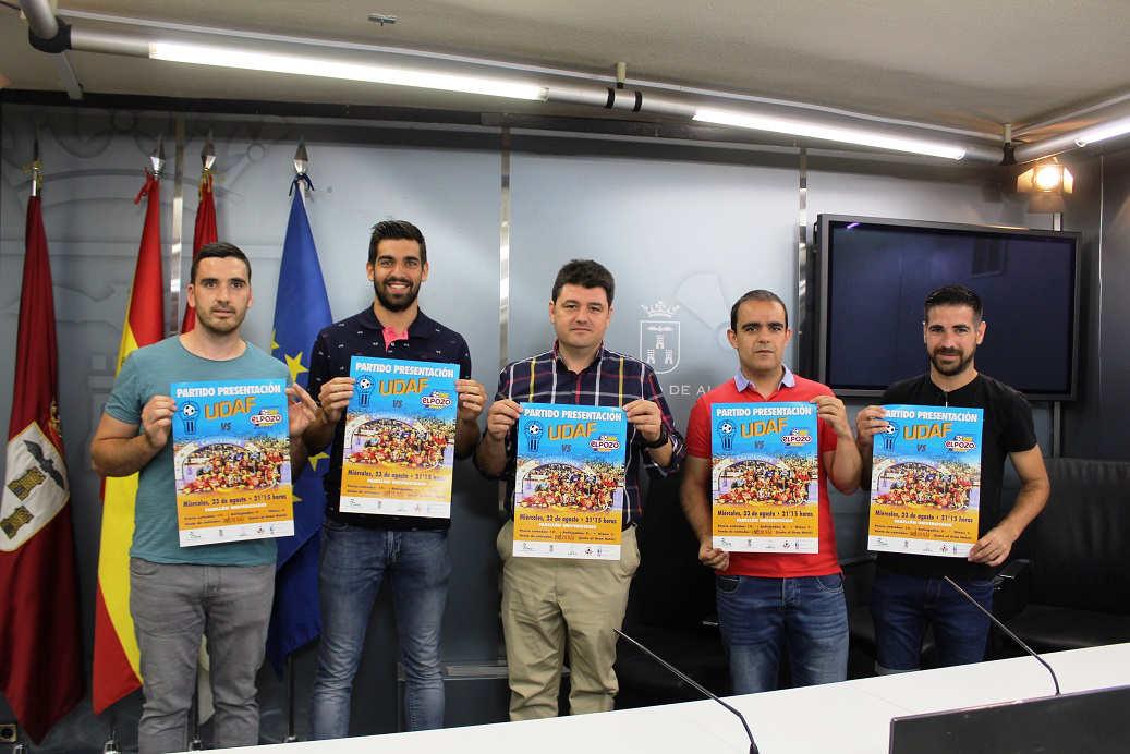 Partido de fútbol sala UDAF y El Pozo Murcia