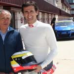Pedro de la Rosa en el Circuito de Albacete (Foto: Circuito)