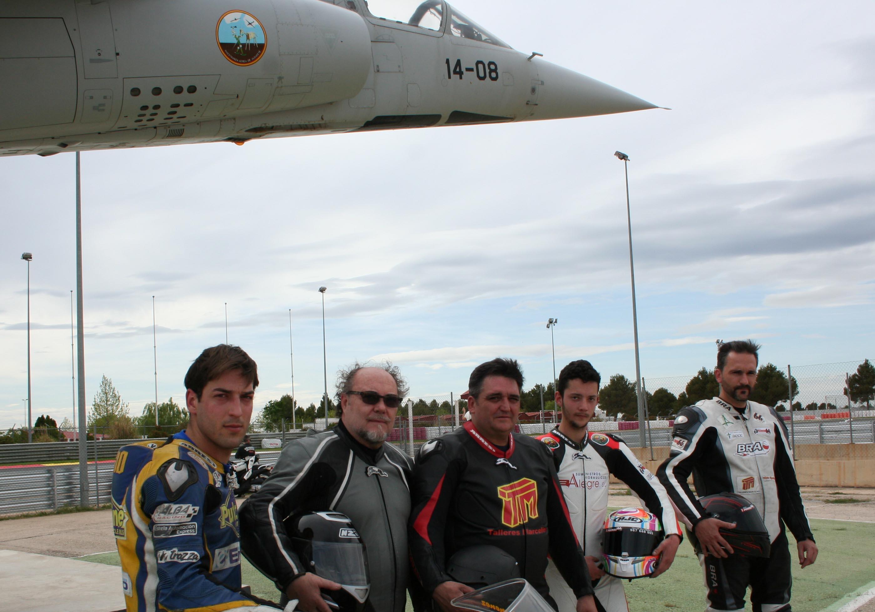 Pilotos de Albacete (Foto: Circuito)