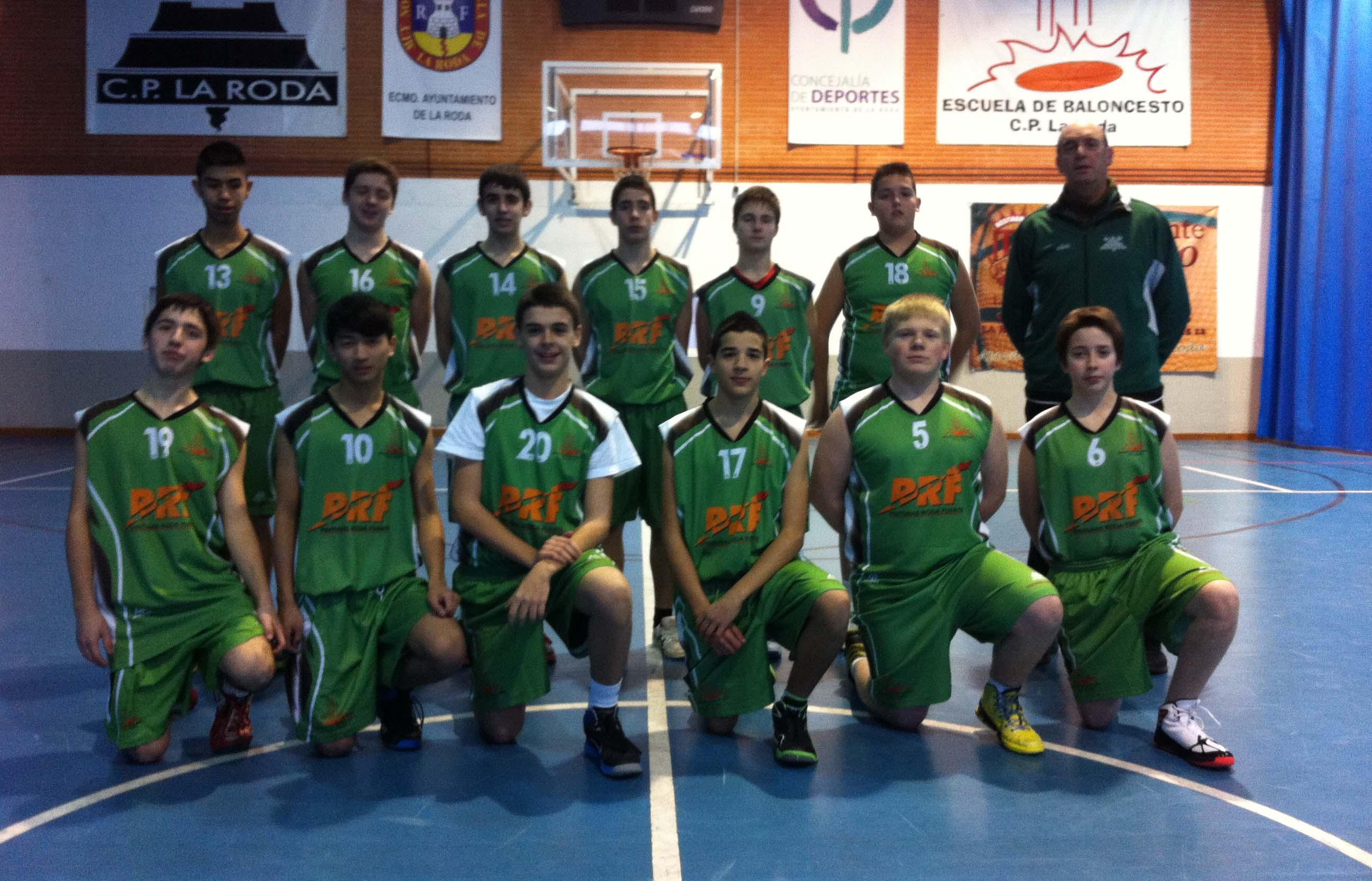 Pinturas Roda Fuerte CP La Roda (Foto: Basket La Roda)