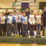 Plantilla Escuela CPC Albacete con los hermanos Herrada
