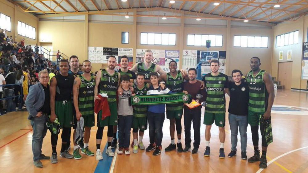 Plantilla del Albacete Basket en Cambados