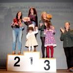 Podio femenino III Circuito Carreras Populares La Manchuela