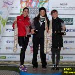 Podio femenino en Balazote (Foto: Paco Villaescusa)
