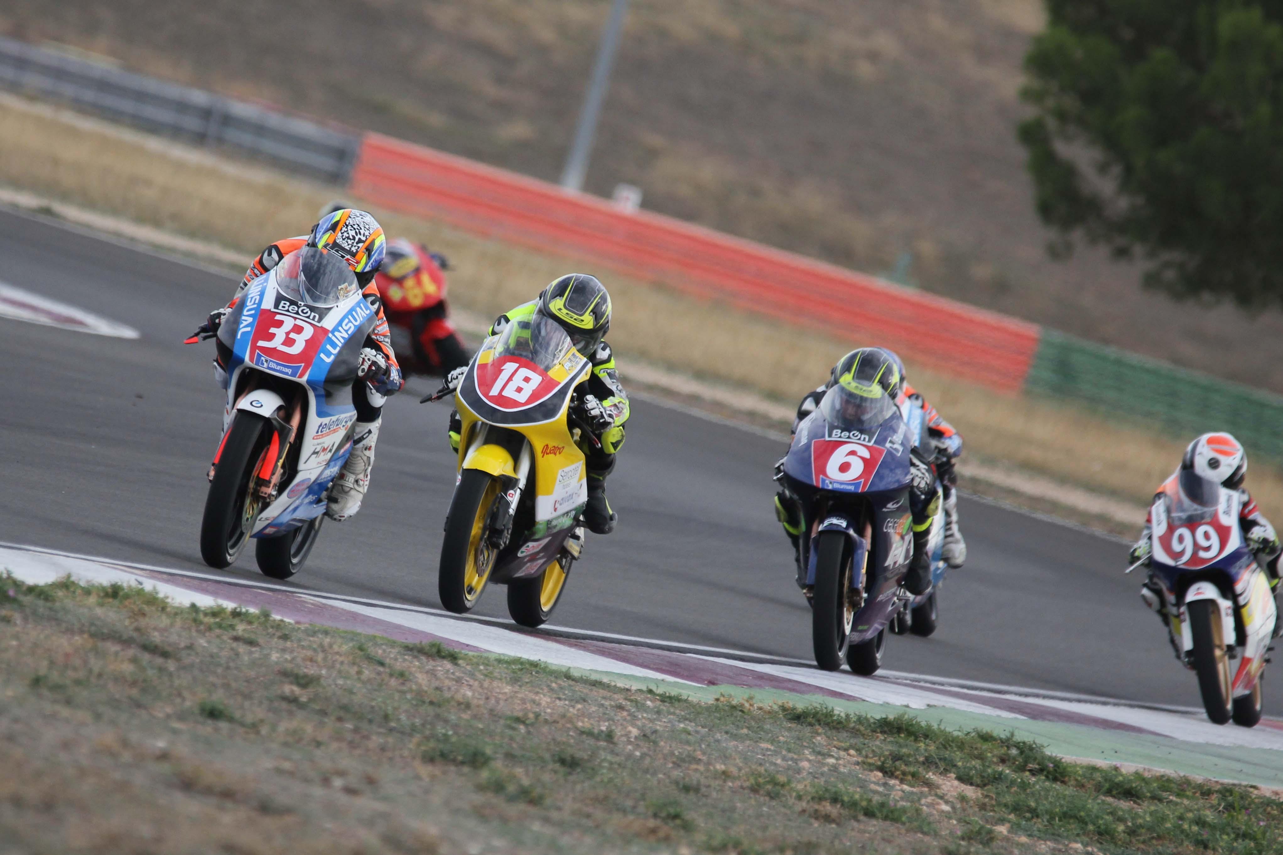 PreMoto3, PreMoto4, Moto4 (Foto: Circuito)